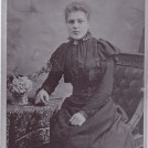"Photo:Maternal grandmother - Mary Elizabeth Tomlinson ""Polly"" (aged 16 - 1894) Born 25 Oct 1878 in Misterton Notts.  Died 30 April 1961."